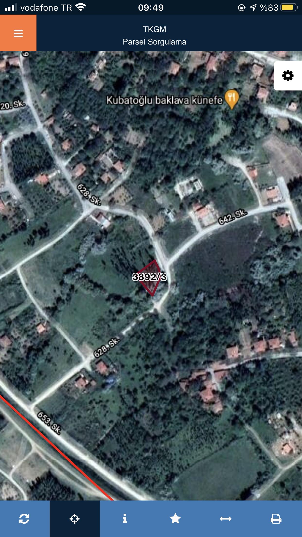 KUYUBAŞI MEVKİİ BELLONA ARKASI 718 M2 ARSA