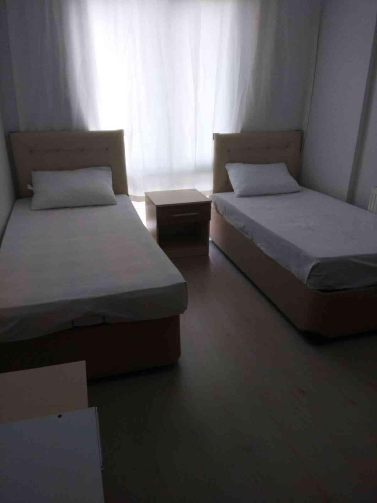 ELEKTRİK-SU-AİDAT BİZDEN 1+1 2 Yataklı 2+1 4 Yataklı Eşyalı Daireler